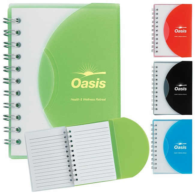 Small Notebook with slip cover - 15694