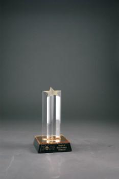"7"" Single Star Column Acrylic"