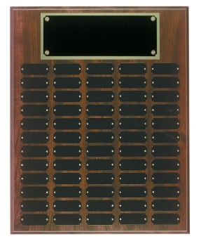 "16"" x 20"" Cherry Finish Perpetual Plaque - CPP60"