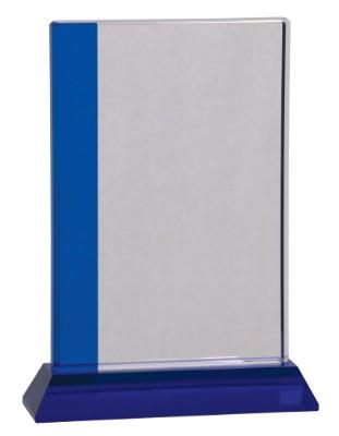 "9"" Blue Edge Crystal - CRY534L"