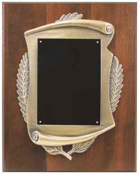 """12"""" x 15"""" Completed Scroll Plaque - CSP1215"""