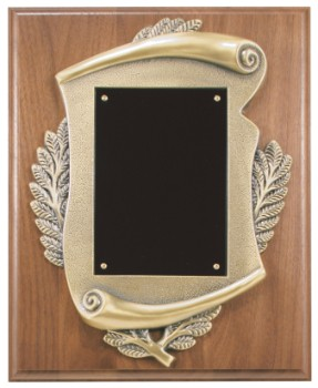 "8"" x 10"" Completed Scroll Plaque - CSP810"