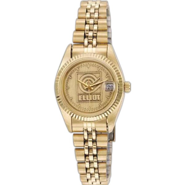 Ladies Saturn Medallion Watch - D1326