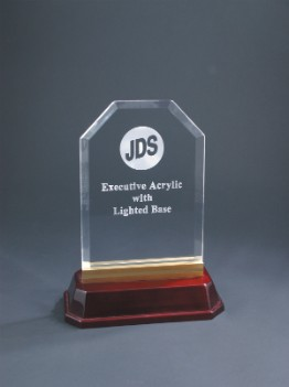 "8"" x 10 1/2"" Lighted Executive Acrylic Award - EXA10L"