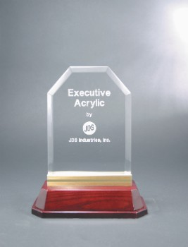 "7 1/2"" x 9 1/2"" Executive Acrylic Award - EXA9"