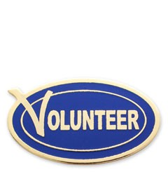 Volunteer Stock lapel pin with military clutch - G1