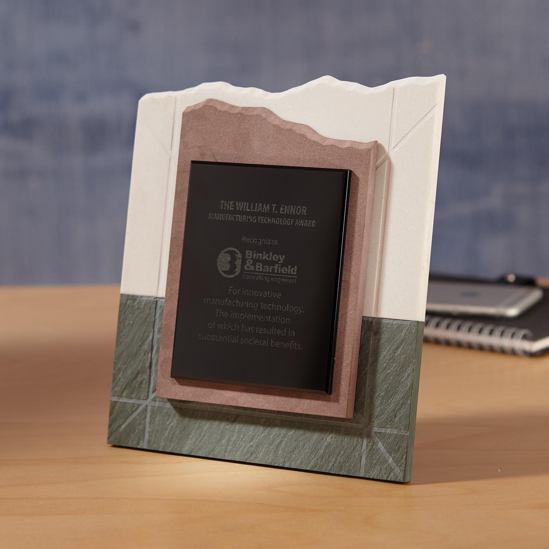 Quad-Stone Mixed Media Award - IC7443