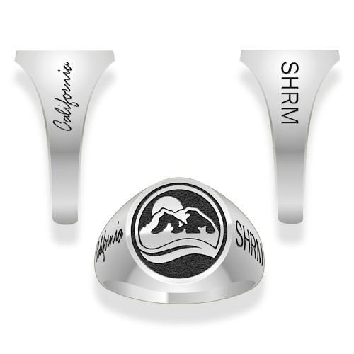 Ladies Sterling Silver Ring