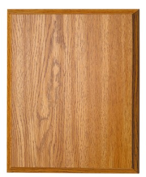 "7"" x 9"" Oak Finish Plaque - OKP79"