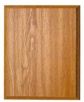 "8"" x 10"" Oak Finish Plaque - OKP810"