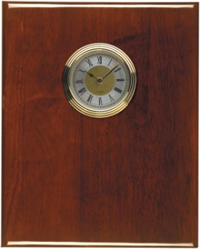 "8"" x 10"" Rosewood Piano Finish Clock - PNA8CLK"