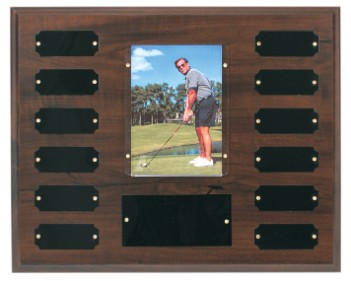 "10 1/2"" x 13"" Completed Perpetual Photo Plaque - PTP2"