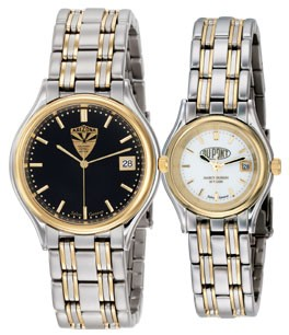 Mens Century Two Tone Watch - S2811