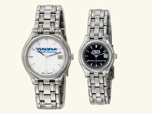 Mens Century Silver Tone Watch - S2813
