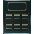 "10 1/2"" x 13"" Black Piano Finish Perpetual Plaque - BPP18"