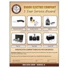 Custom Service Award Programs