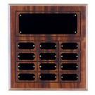 "11 5/8"" x 12 3/4"" Cherry Finish Perpetual Plaque - CPP12"