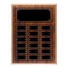"12"" x 15 1/2"" Cherry Finish Perpetual Plaque - CPP18"