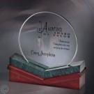 "8"" x 6 1/2"" x 2 3/4"" Heritage Aurora Award - FT3511S-5"