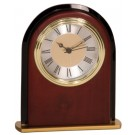 "6 1/2"" Mahogany Finish Arch Clock - MF001"