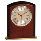 "6 1/2"" Mahogany Finish Square Arch Clock - MF002"