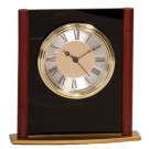 "6 1/4"" Mahogany Finish Column Clock - MF003"